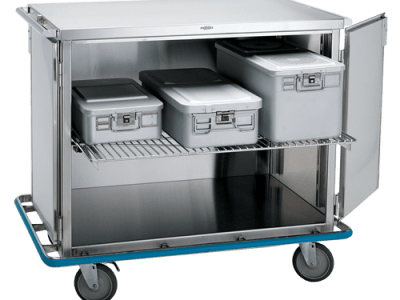 Closed Surgical Case Cart