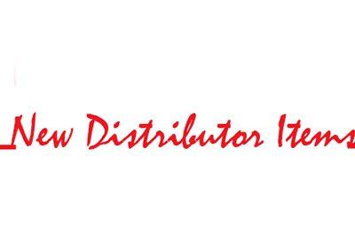 New Distributor Items